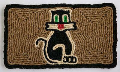zerbino gatto in fibra vegetale
