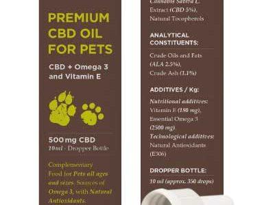 Olio CBD per animali